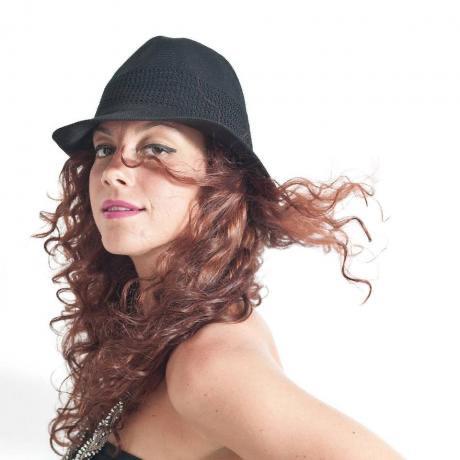 Simona Galeandro, vincitrice del Festival di Castrocaro e Vina del mar in Cile