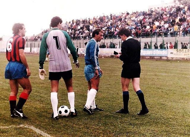 13 ottobre 1985, Serie C1: I tarantini sono Goletti e Sassarini