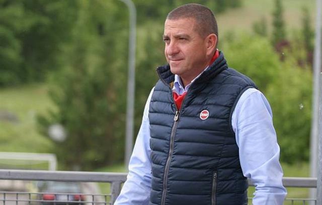 Mauro Canil, presidente del Matelica - Foto marcheingol.it