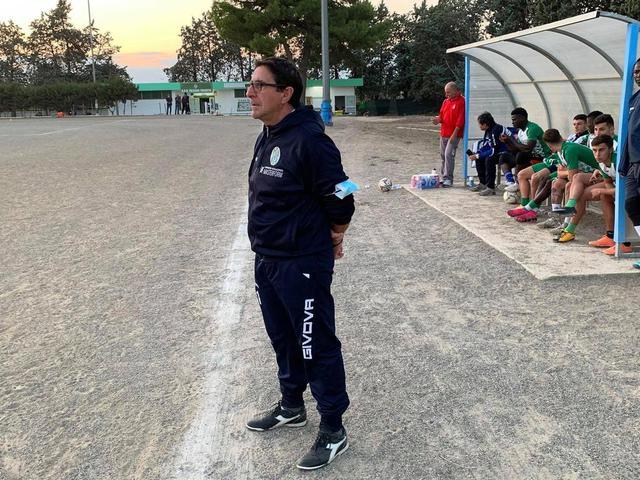 Giacomo Pettinicchio, allenatore del Talsano Taranto