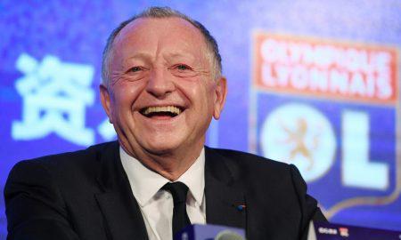Jean-Michel Aulas, presidente del Lione