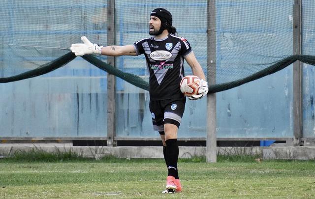 Giorgio Pizzolato nella foto Giorgia Aprile/Brindisi FC