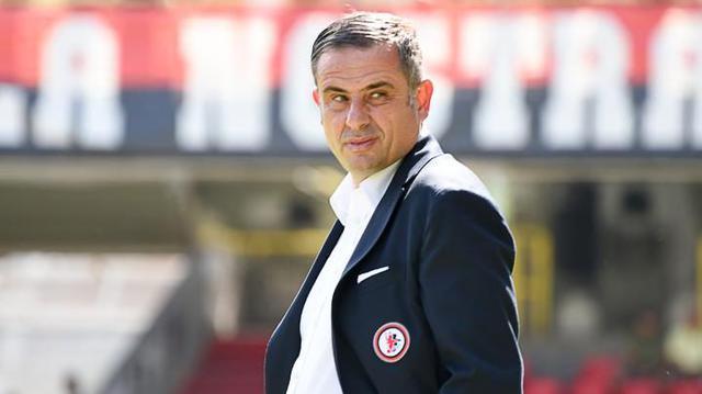Ninni Corda, allenatore del Foggia - Foto calciofoggia.it