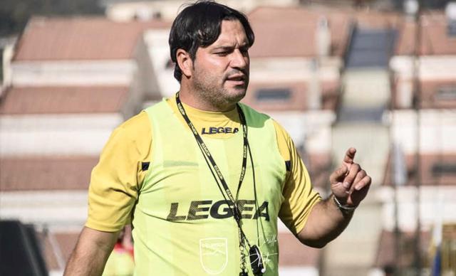 Alessio Martino, allenatore della Gelbison - Foto Gelbison Calcio pagina Facebook