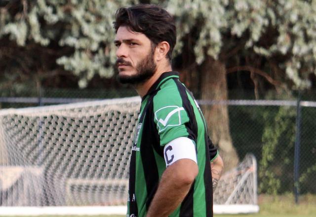 Vito Di Bari, capitano del Corato - Foto pagina Facebook Corato Calcio
