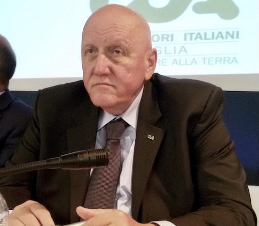 Raffaele Carrabba, presidente di CIA Agricoltori della Puglia