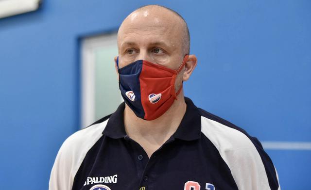 Coach Davide Olive nella foto Aurelio Castellaneta
