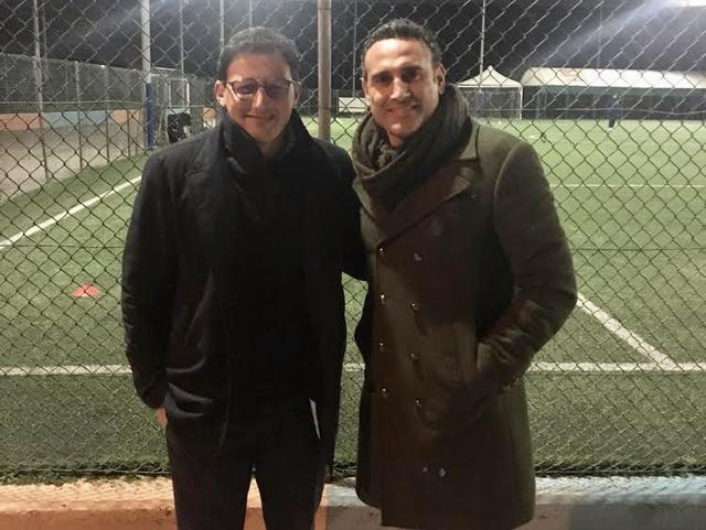 Piergiuseppe Sapio e Nick Amoruso