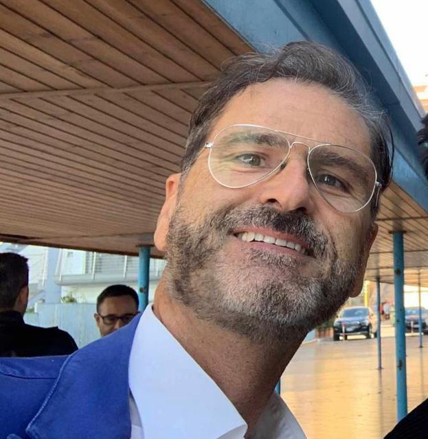 Alberto Carelli, dirigente della Vibrotek Volley Leporano
