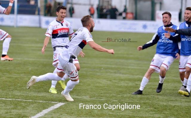 Fabio Oggiano, attaccante del Taranto
