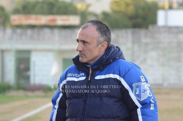 Francesco Cristofaro, allenatore della Juniores del Massafra