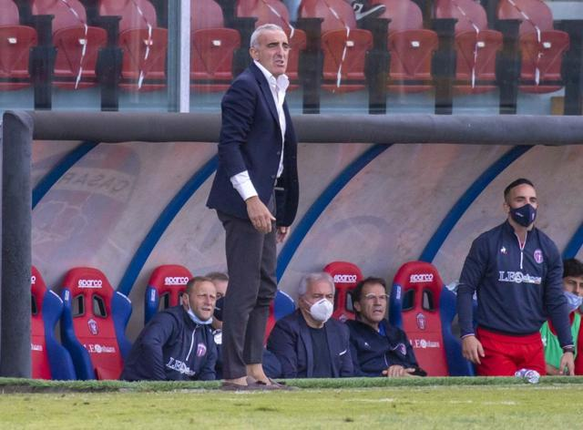 Vincenzo Feola, allenatore del Casarano - Foto Garofalo