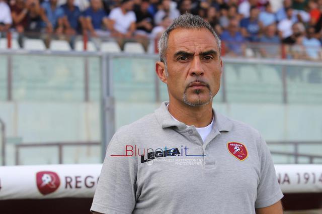 Mimmo Toscano, allenatore della Reggina sempre più capolista