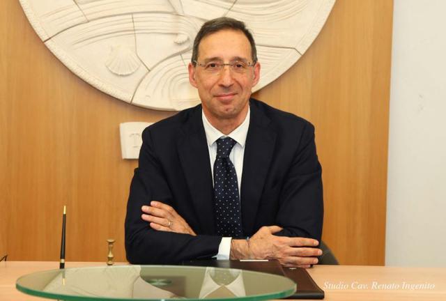 Lavvocato Fedele Moretti, presidente dellordine degli avvocati tarantini