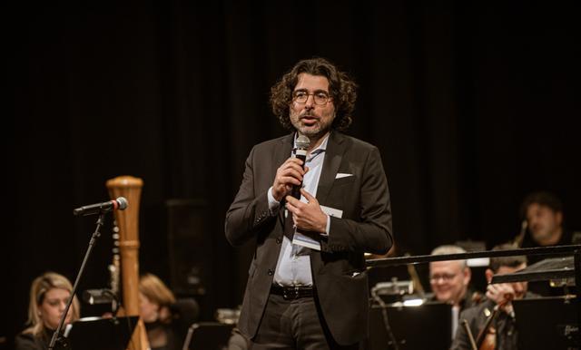 Piero Romano, direttore artistico dellOrchestra della Magna Grecia