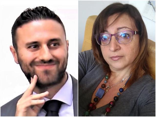 Vincenzo Angelini eMaria Vittoria Colapietro,Coordinatori provinciali Italia Viva Taranto