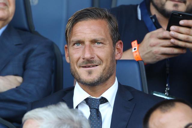 Francesco Totti, ex capitano e calciatore simbolo della Roma