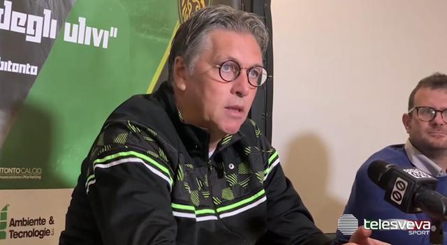 Nicola Ragno, allenatore del Bitonto