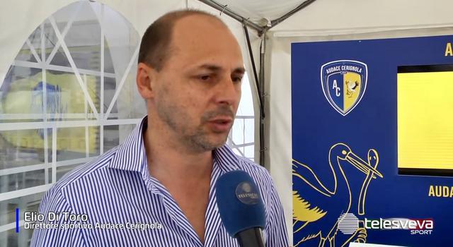Elio Di Toro, direttore sportivo del Cerignola