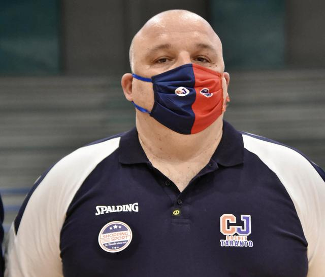 Coach Carone nella foto Aurelio Castellaneta