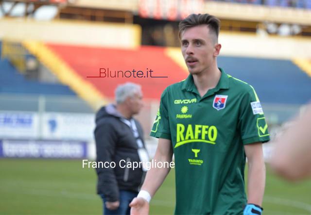 Alex Sposito, portiere del Taranto