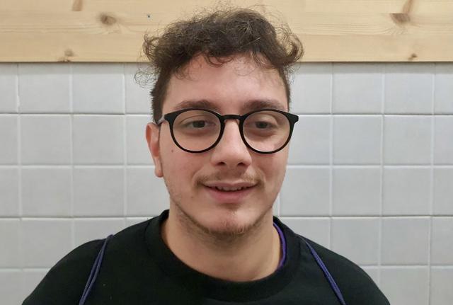 Valentino Sperandeo, allenatore in seconda del GCTA Taranto