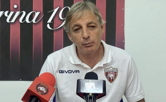 Marcello Esposito, allenatore della Nocerina
