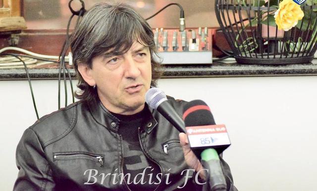 Il direttore sportivo del Brindisi Nicola Dionisio - Foto Simona Di Maria