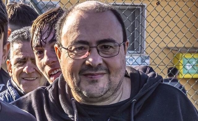 Angelo Amo, dirigente dei Diavoli Rossi