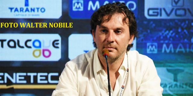 Sandro Corbascio, responsabile della comunicazione del Taranto FC