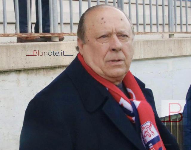 Pippo Caffo, presidente della Vibonese - Foto Francesco Donato