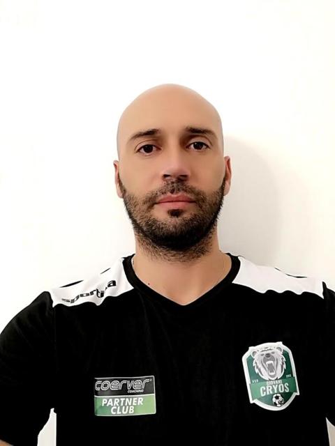 Nicola Pizzolla, ex calciatore del Taranto ora alla Giovani Cryos