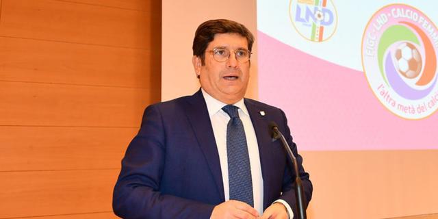 Sandro Morgana, vicepresidente della Lnd