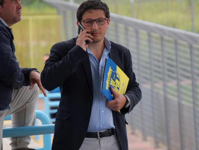 Piergiuseppe Sapio, responsabile del settore giovanile dellAscoli