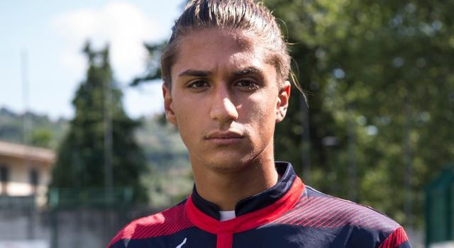 Mattia Passaro, foto Gelbison Calcio