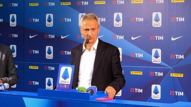 Paolo Del Pino, presidente della Lega Serie A
