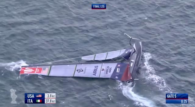Coppa America: Luna Rossa ko con Ineos, barca Usa si ribalta