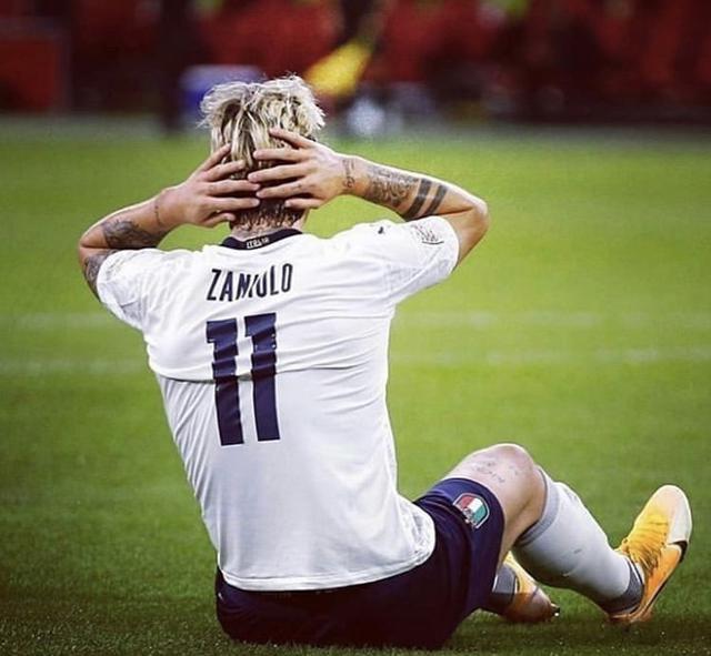 L'infortunio di Nicolò Zaniolo nel match tra Olanda e Italia (Profilo social giocatore)