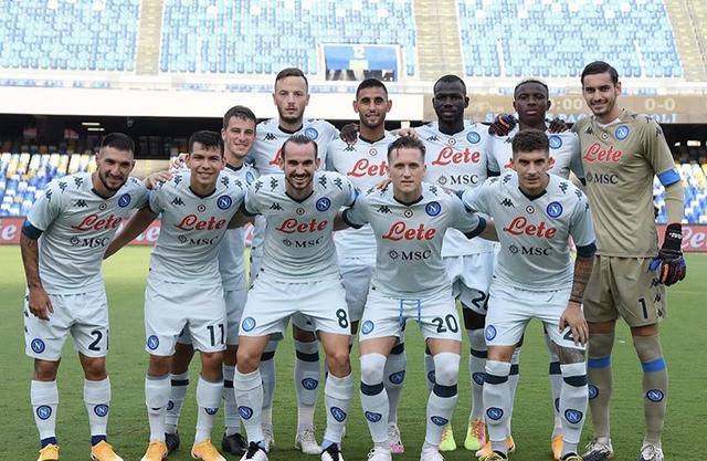 I titolari scelti da Gennaro Gattuso per l'amichevole contro il Pescara (Profilo social SSC Napoli)