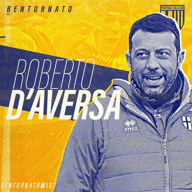 Roberto D'Aversa (Ph. Twitter)