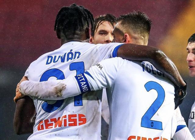 L'Atalanta travolge il Benevento 4-1 al Vigorito (Profilo social Atalanta BC)