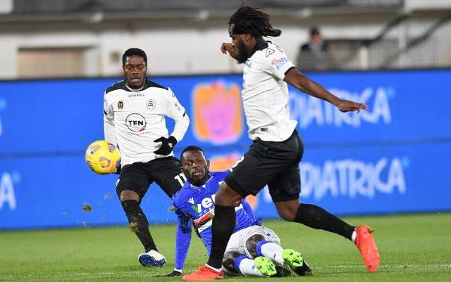 M'Bala Nzola (Ph. Sky Sport)