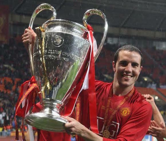 O'Shea con la Champions League conquistata dallo United nel 2007/08 - Flickr