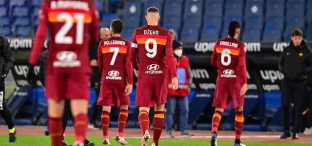 I calciatori della Roma (ph Social)