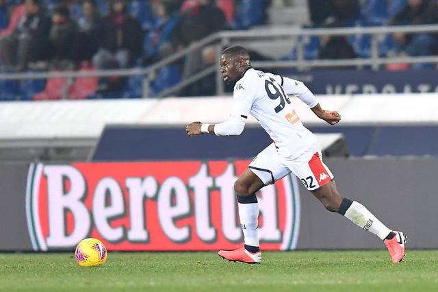 Adama Soumaoro (ph. Twitter Genoa Cfc)