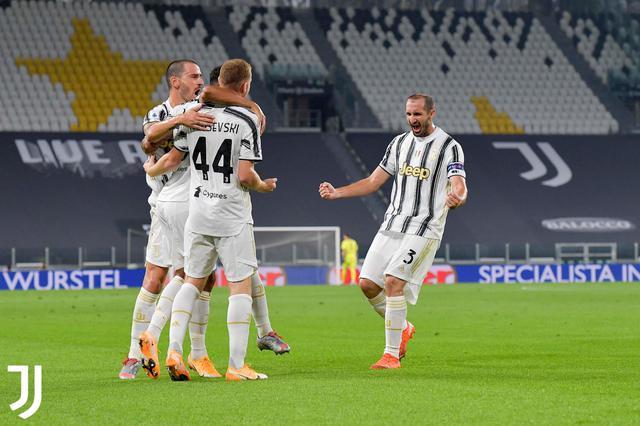 Juventus-Sampdoria, 1-0 a fine primo tempo. La sblocca Kulusevski (ph Twitter Juventus)