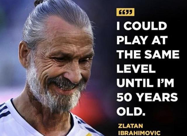 Il post social di Zlatan Ibrahimovic (Profilo Instagram giocatore)