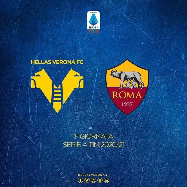 Video Gol Highlights Hellas Verona Roma 0-0 e Sintesi 20-09