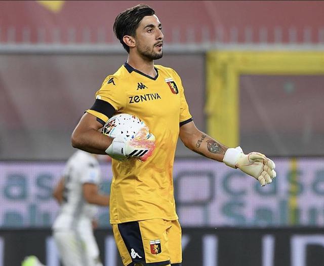 Mattia Perin, portiere del Genoa in prestito dalla Juventus (Profilo social giocatore)