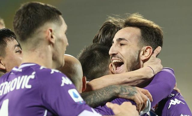 Fiorentina-Spezia 3-0 (Profilo social Fiorentina)